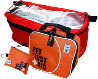 View our Pet First Aid Kits
