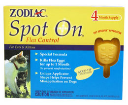 Zodiac Spot On flea control product